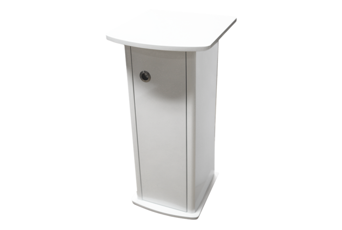 Evolution Cabinet Pearl White