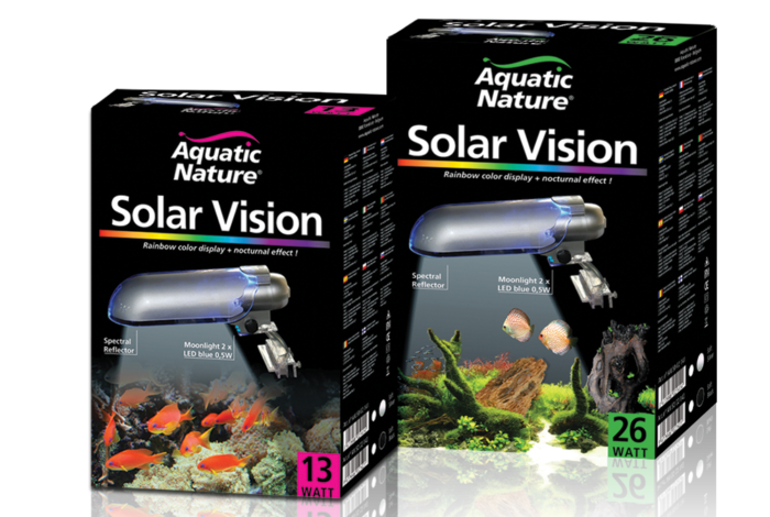Solar Vision packaging